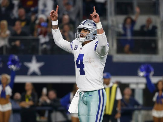 Mike McCarthy sees greatness in Dallas Cowboys quarterback Dak Prescott, a former standout at Mississippi State.