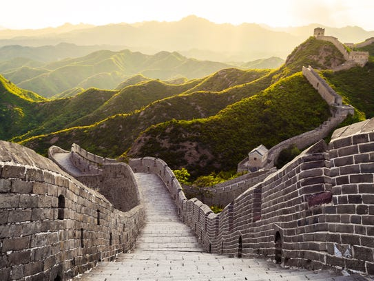 China: Tourism to China has been on the upswing for