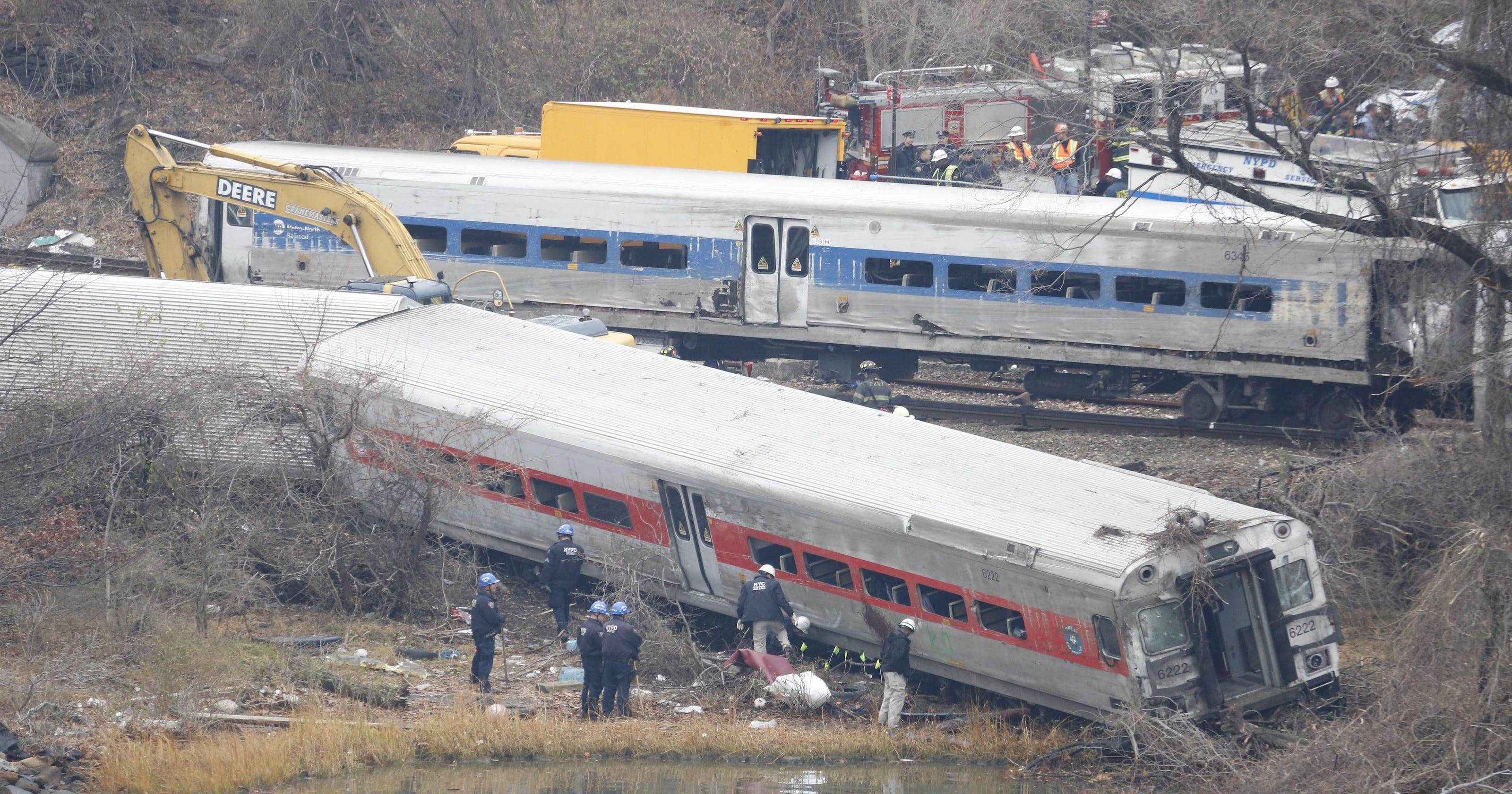 Fatal Bronx derailment: Metro-North to pay conductor at