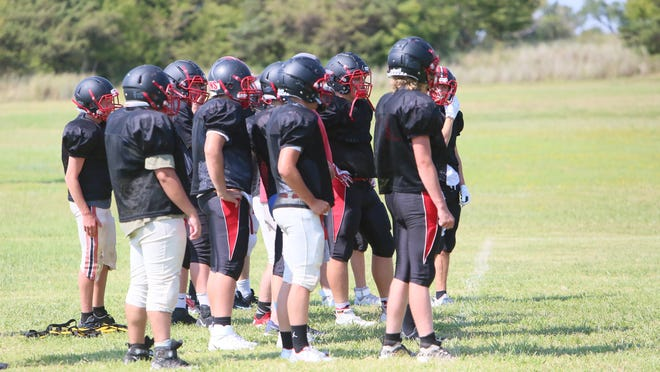 The Fairfield High School football team will feature just one senior this season on a roster of 19 players.