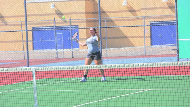 The Nickerson girls tennis team is next in action on Sept. 1 at Hillsboro.