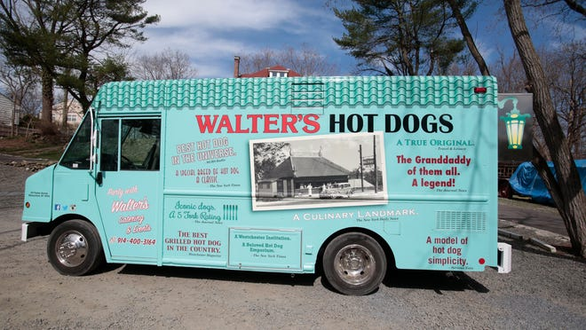 The new Walter's Hot Dogs food truck of Mamaroneck will be taking the famous hot dogs on the road on April 15, 2015.
