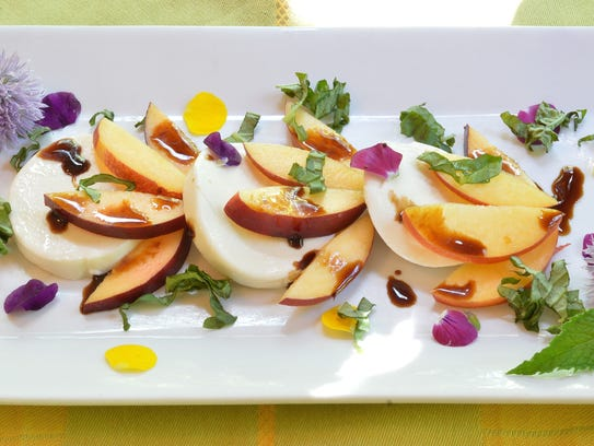 This variation on the classic caprese salad replaces