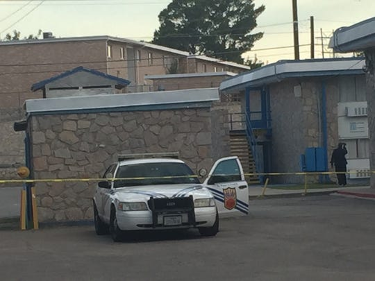 El Paso police investigate a death at the Mesa Inn hotel, 4151 N. Mesa St., after a body was discovered there Aug. 26.