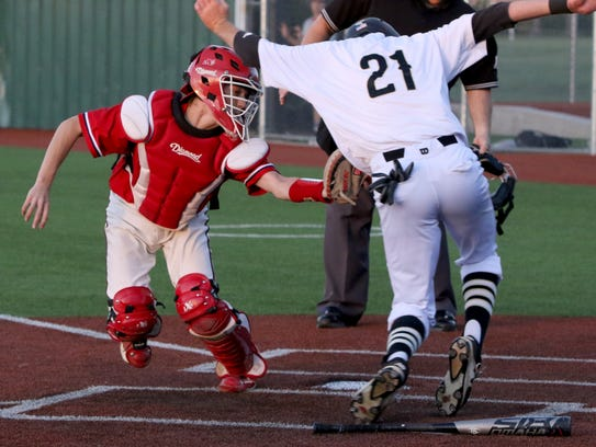 Rider's Rayce Radtke was one of four Raiders who were named to the District 5-5A first team.