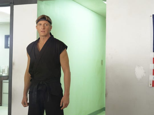 William Zabka in a scene from the YouTube Red series
