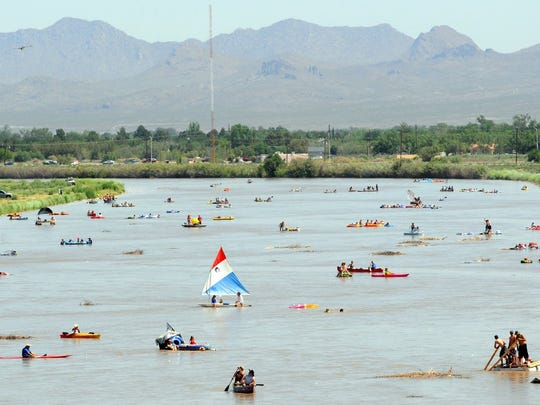 Safety is a priority at the annual Raft the Rio event.