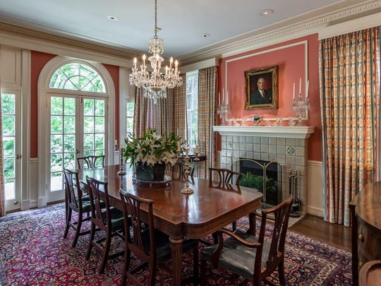 The dining room at 3315 Fairfield Ave.