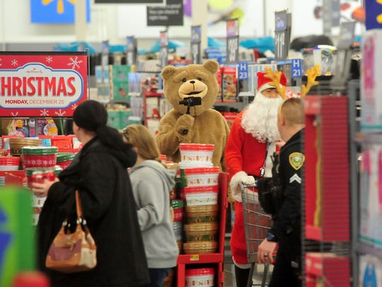 Shop with a Cop on Thursday night at the 10th Avenue