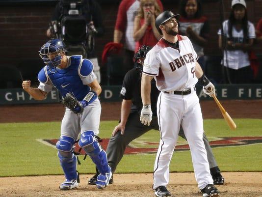 NLDS Dodgers vs Diamondbacks game 3