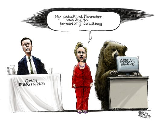 Hillary Clinton's pre-existing conditions