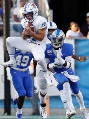 NFL prospects such as Tennessee State receiver/returner Chris Rowland will likely be impacted by the lack of on-campus pro days when the draft takes place later this month, as teams will have less information on which to base their decisions than they are accustomed to having.