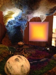 """The Cosmic Cave"" at Cranbrook Art Museum embodies"