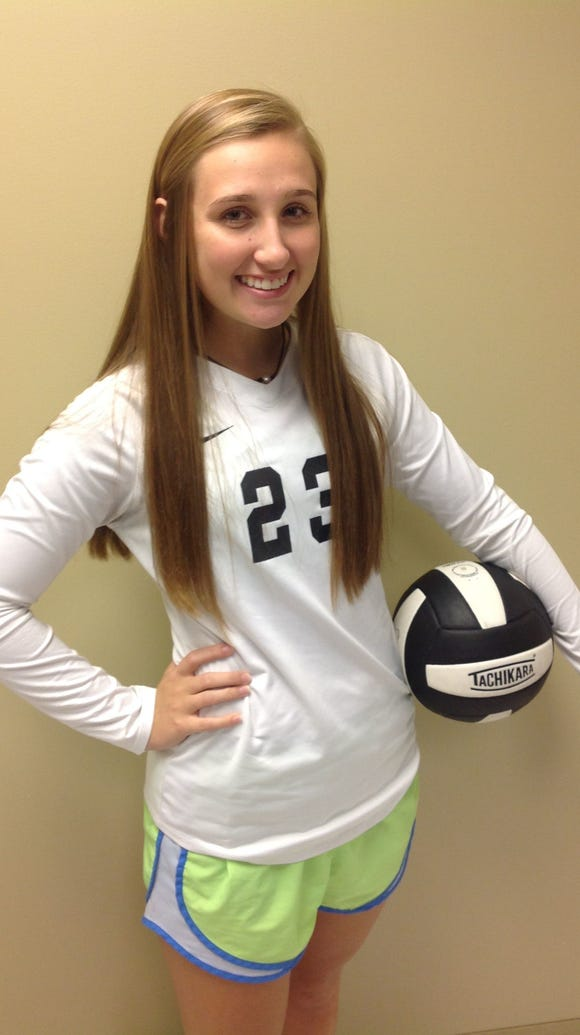 Wetumpka senior Jordan Stewart had 137 kills for the