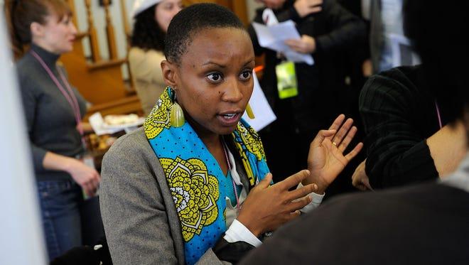 'Rafiki' director Wanuri Kahiu attends the Sundance Industry meeting during the 2010 Sundance Film Festival on January 27, 2010 in Park City, Utah.
