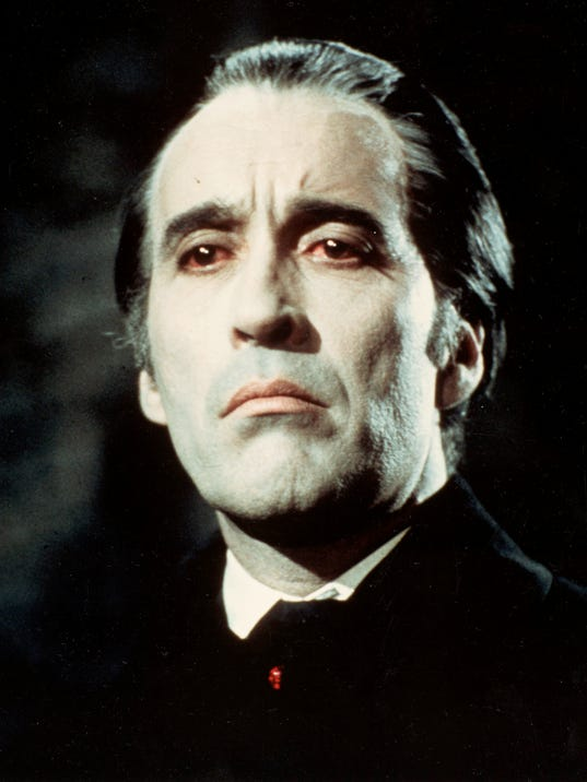 Christopher Lee in 'Th...