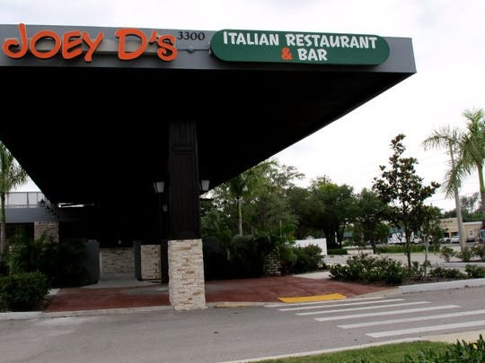 Joey D's Italian Restaurant & Bar opened in February 2015 in the former location of Augustina's A Taste of Chicago on the southeast corner of Davis Boulevard and Airport-Pulling Road in East Naples.