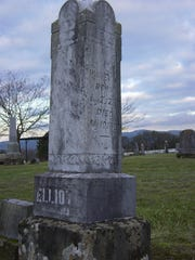 Willis Elliott lived in three centuries. He died July 10, 1900, less than a month before his 101st birthday. Elliott is buried at Hilltop Cemetery just south of Independence.