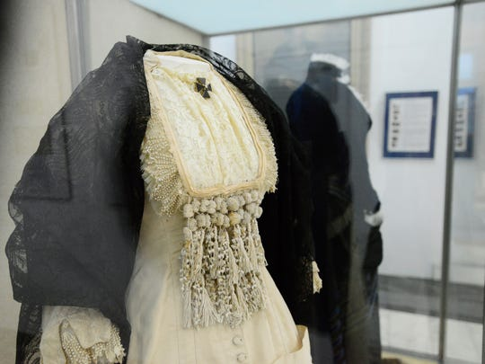 Plans to improve the display of Lucy Webb Hayes' dresses