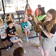 Greenville Zoo offers many programs for ages 4 and younger