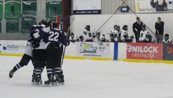 John Jay is playing rival Fox Lane on Sunday at Brewster Ice Arena.