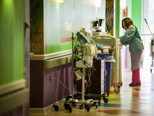"""""""I love my job"""" says Registered Nurse Val Shanahan"""