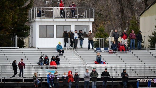 Pelham and Scarsdale lacrosse fans.