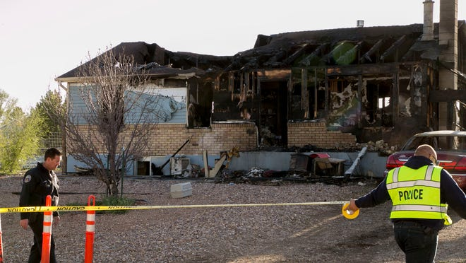 Authorities continue to investigate the fire that claimed the lives of three people Monday night. Officials identified the victims as Frances Brewington, 70, Cynthia Shaffer, 46, and Jay Brewington, 32.