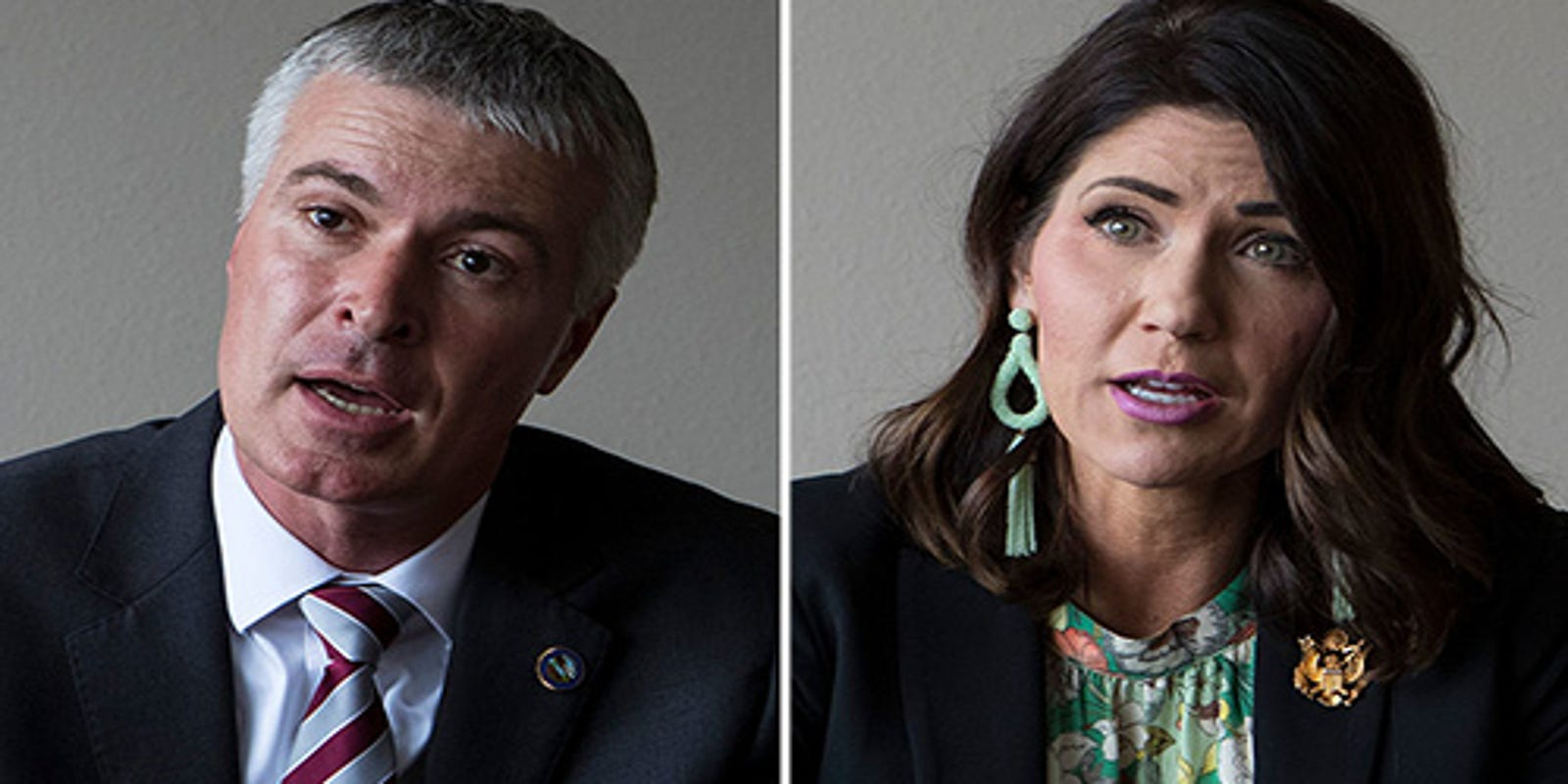Argus Leader-KELO TV poll: GOP governor's race a toss-up between Kristi Noem and Marty Jackley