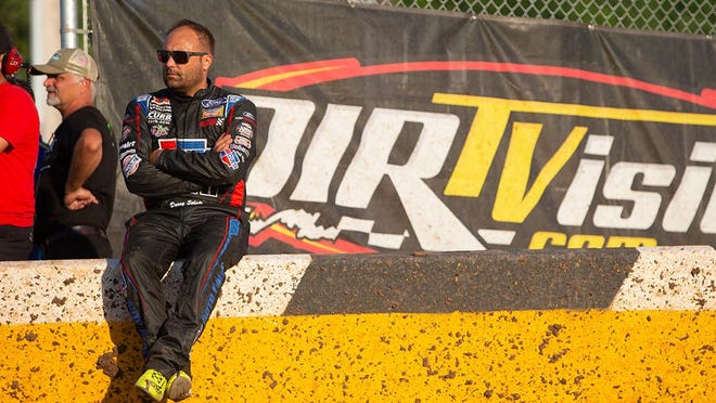 Donny Schatz won the last World of Outlaws sprint car race at 34 Raceway in 2014. Schatz is in third place in the point standings as the World of Outlaws take the track Friday night at 34 Raceway.