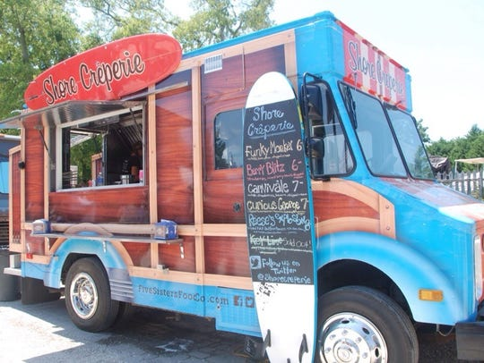 Shore Creperie sells Japanese-style crepes, which are