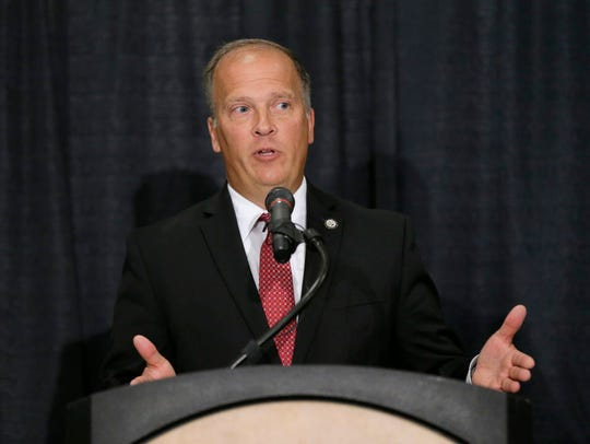 Brad Schimel, a Republican, is attorney general for