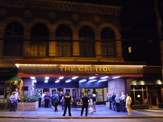 Port Chester's Capitol Theatre was largely unused,