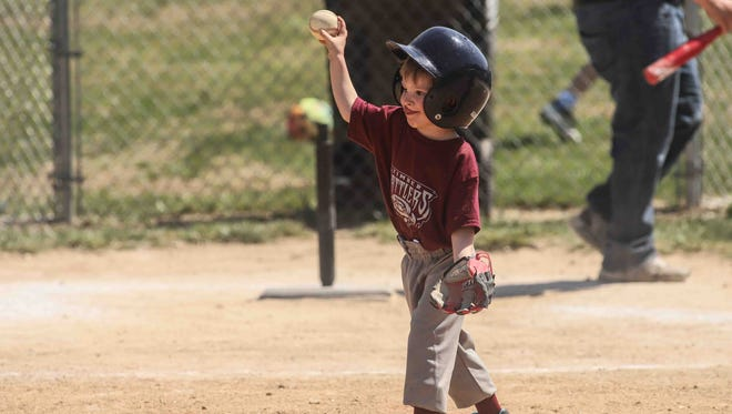 Games get underway during the opening day of the Canal Little League Saturday. April 14, 2018, at the Canal Little League Complex in Glasgow.
