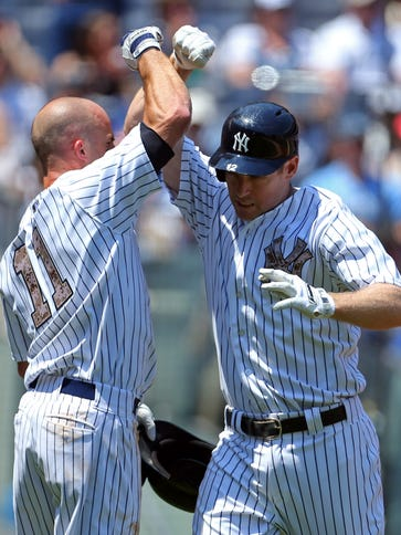 New York Yankees third baseman Chase Headley (12) is