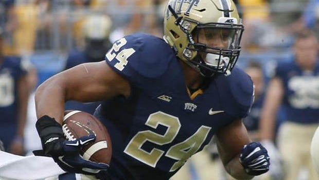 Pitt running back James Conner, who has recovered from cancer, is an NFL draft prospect after rushing for more than 1,000 yards this season.