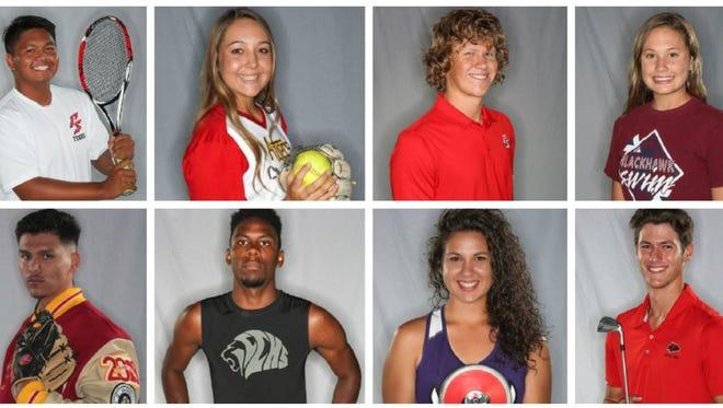 The Desert Sun's 2018 top spring athletes.