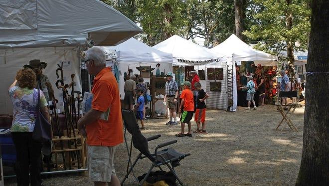 Silverton Fine Art Festival takes place Aug. 20-21 in Collidge-McClaine Park.