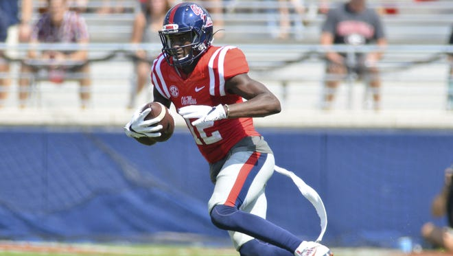 Van Jefferson started all 12 games last season after redshirting in 2015. He finished second on the team with 49 receptions.