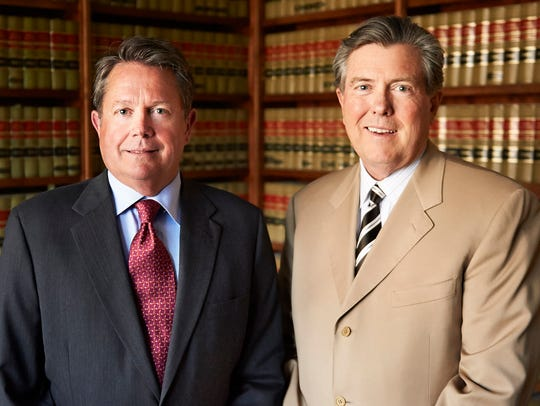 Jim Pate and Frank Neuner of the Neuner Pate Law Firm.