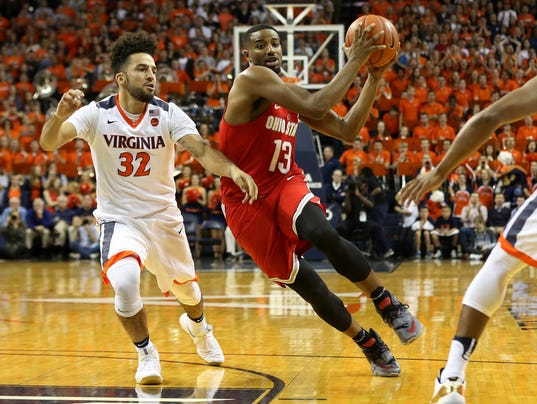 NCAA Basketball: Ohio State at Virginia