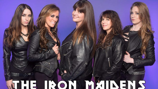 The Iron Maidens, billed as the only all-female Iron Maiden tribute band, break out the heavy metal thunder on Sept. 14 at Green Bay Distillery.