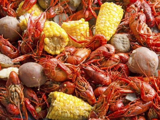 Crawfish boil stock art