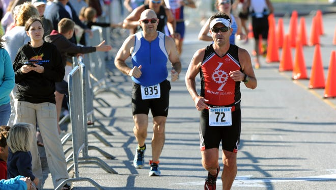 The annual Santa Rosa Island Triathlon had good weather for its last few years, but concern with Tropical Storm Nate cancelled Saturday's scheduled 22nd event.
