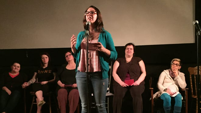 """The Vagina Monologues"" is a community performance featuring a diverse cast of volunteers brought together by their common passion surrounding the play's theme."