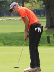 Freshman Sam Yono shot 83 to help lift Brother Rice