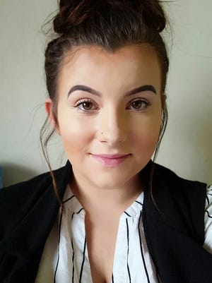 Erin Sandilands, 18, won a sexual discrimination claim against Cecchini's bistro in Ardrossan, Scotland. Her manager had told her to look more feminine.