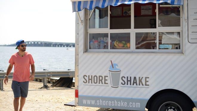 Aaron DaSilva of Shore Shake.