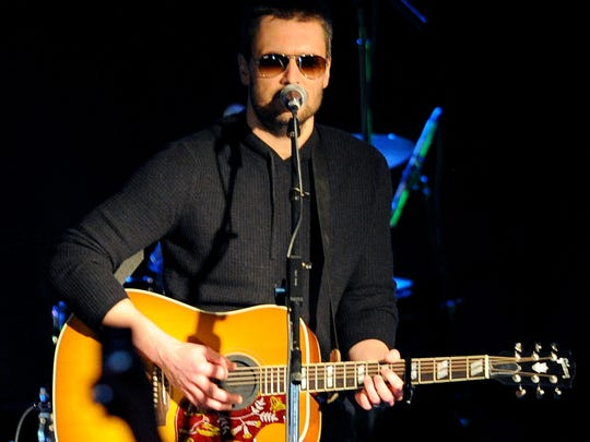Country music artist Eric Church, shown performing at 8 Seconds Saloon in 2014, returns to Bankers Life Fieldhouse on Feb. 23.