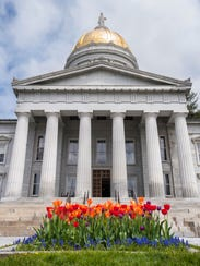 The Statehouse in Montpelier on Thursday, May 11, 2017.